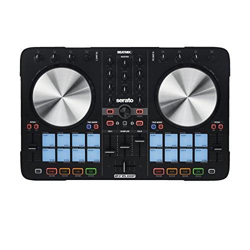 Reloop BEATMIX 2 MK2 controlador dj Negro Digital Vinyl System (DVS) scratcher 2 canales – Controladores dj (6,3 mm, 3.5 mm/6.35 mm, USB, 492 mm, 317 mm, 35 mm)