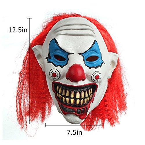 halloween clown funny mask vampire zombie horror scary