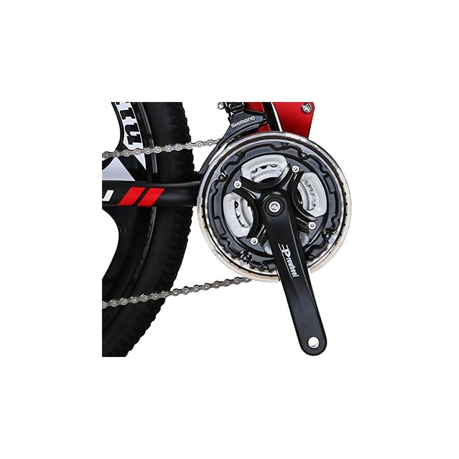 EUROBIKE Kingttu G6 21Speed 26Inch Moumtain Bike 3Spoke Wheels Dual Disc Brake Folding Bike