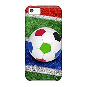 [cpGixha7849jbRIT]premium Phone Case For Iphone 5c/ Corner Kick Tpu Case Cover