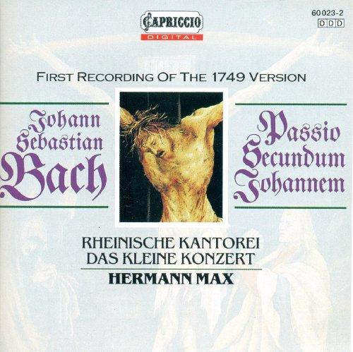 Bach: St. John Passion (Schwarz Guess)