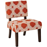 Ave Six Jasmine Accent Chair, Peninsula Saffron
