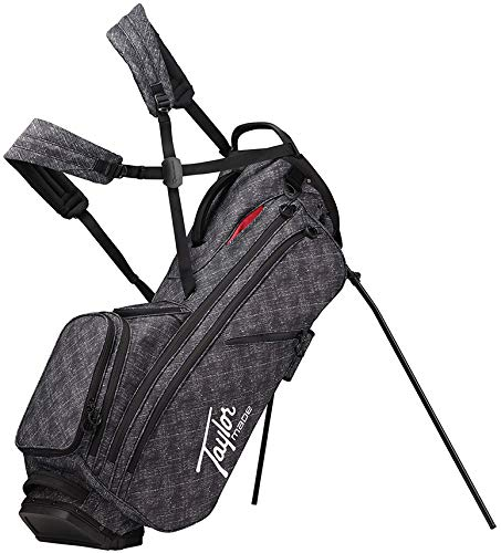 TaylorMade 2019 Flextech Crossover Lifestyle Stand Golf Bag, Gray Canvas