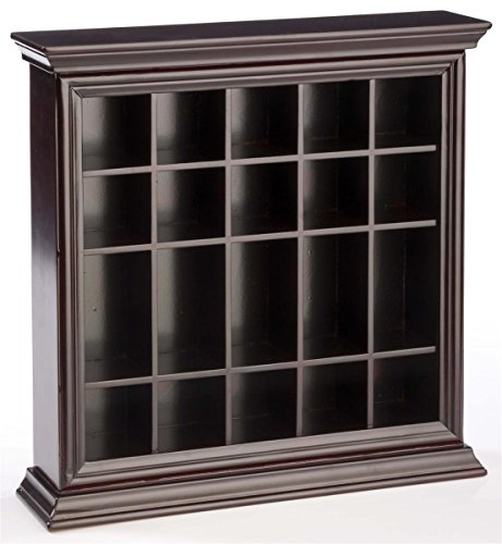Displays2go SHGSD20GM 20 Shot Glass Display Case Holder by Displays2go
