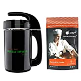 Mighty Fast Herbal Infuser with Modernist Pantry Food Grade Soy Lecithin