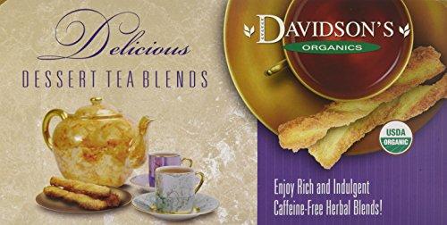 Davidson's Tea Single Serve Coconut Vanilla, 100-Count Tea Bags