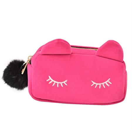 Amazon.com: fellibay Bolsa de almacenamiento de maquillaje ...
