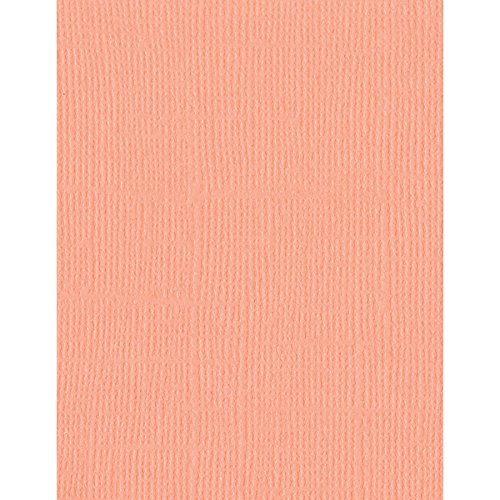 Bazzill 25 Sheets Mono Coral Cream, 8.5 x 11