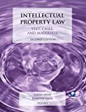 Intellectual Property Law: Text, Cases, and Materials, Tanya Aplin and Jennifer Davis, 019964330X