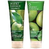 organics desert essence shampoo - Desert Essence Organics Green Apple & Ginger Shampoo & Desert Essence Green Apple & Ginger Conditioner Bundle