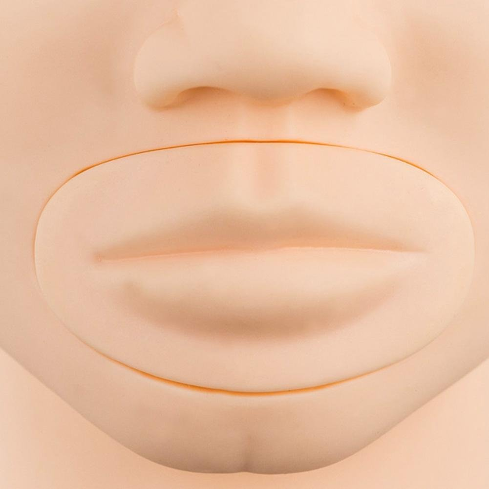 Gracefulvara 3D Microblading Permanent Makeup Eyebrow Lips Tattoo Practice Face Skin Model by Gracefulvara (Image #5)