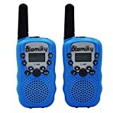 Blomiky T-388 22 FRS and GMRS UHF 2 Way Radio Flashlight Kids Friendly Child Walkie-Talkie RT-388 Blue