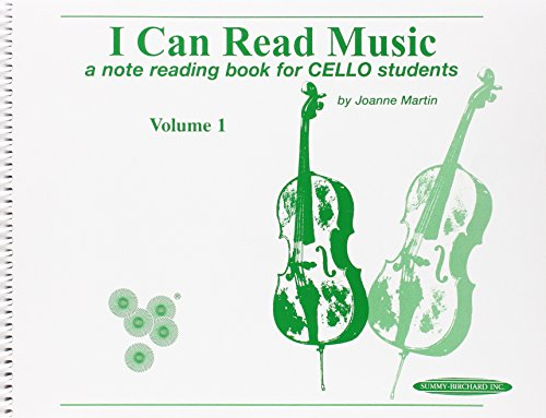 1: I Can Read Music: For Cello, Volume I (1 One And)