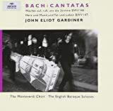 Classical Music : Bach - Cantatas BWV 140, 147 / Holton, Chance, Rolfe Johnson, Varcoe, The Monteverdi Choir, The English Baroque Soloists, Gardiner