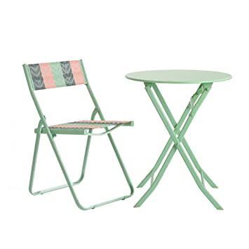 Conjuntos de muebles de jardín Mesas De Hierro Y Sillas ...