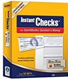 Instant Checks for QuickBooks, Quicken & Money: Form #3001 Personal Wallet - Blue Prestige 250pk