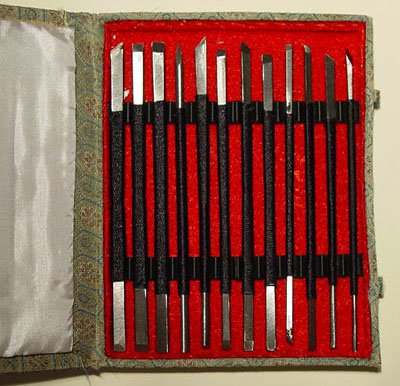 Stone Carving Chisels (Set of 12 Stone Carving Chisels/Knives)