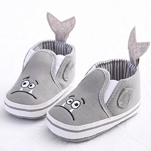 (0 ~ 18 Meses)Koly Niño Niña Cuna Zapatos, recién nacido Flor Suela Anti-deslizante Baby Zapatillas (13)
