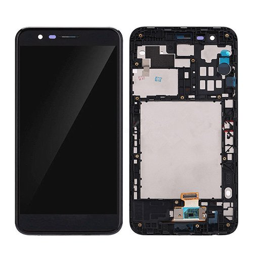 LCD Display Touch Screen Digitizer New Assembly for LG K10 (2018) K30 LMX410 LMX410TK Black with Frame 5.3inch