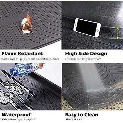 Yoursme Cargo Liner Rear Cargo Tray Trunk Floor Mat Waterproof Protector for Honda CRV 2020 2020: Automotive