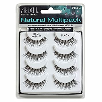 67afbceccd7 Amazon.com : Ardell Multipack Demi Wispies Fake Eyelashes, Pack of 2 :  Beauty