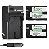 Powerextra 2 Pack LP-E6 LP-E6N Replacement Batteries and Charger for Canon EOS 60D, EOS70D, EOS 5D Mark II, EOS 5D Mark III, EOS 5DS, EOS 5DS R, EOS 6D, EOS 7D, EOS 7D Mark II, EOS 60Da, XC10 Digital Camera