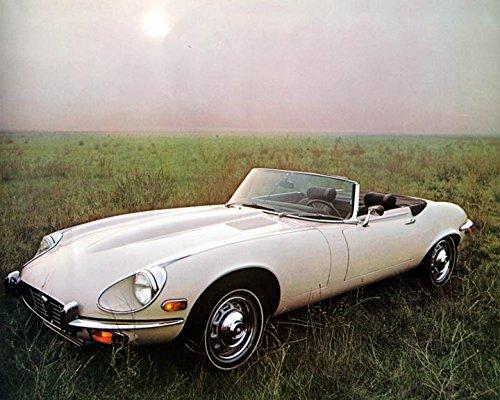 1971 1972 Jaguar XKE V12 Factory Photo