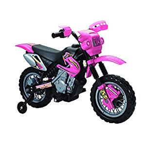 Fun Wheels Motorbike Ride On, Pink