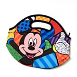 Romero Britto Disney Mickey Mouse Pop Art Lunch Bag