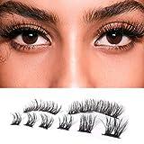 Handcrafted Magnetic Eyelashes 3 Magnet Full Eyelash With Best 3D Faux Mink Fiber