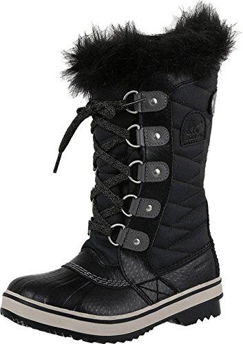 SOREL Tofino II Boot - Girls' Black/Quarry, 6.0