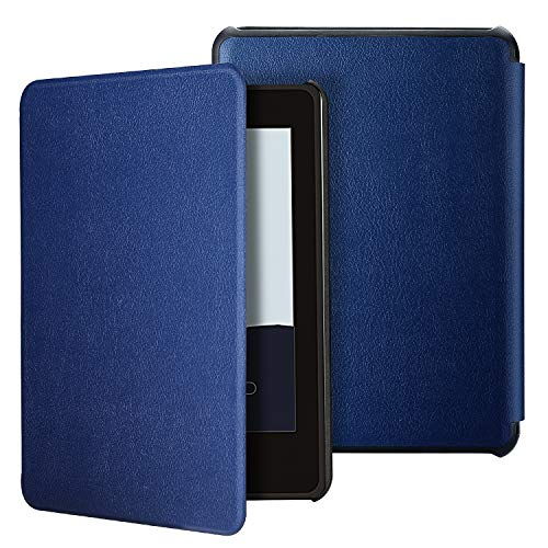 ProCase Smart Cover for Kindle Paperwhite 10th Generation, Slim Light Protective Hard Shell Case for Amazon Kindle Paperwhite (10th Generation,2018 Release) -Navy