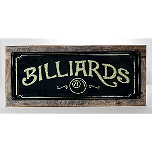 Billiard Signs: Amazon.Com
