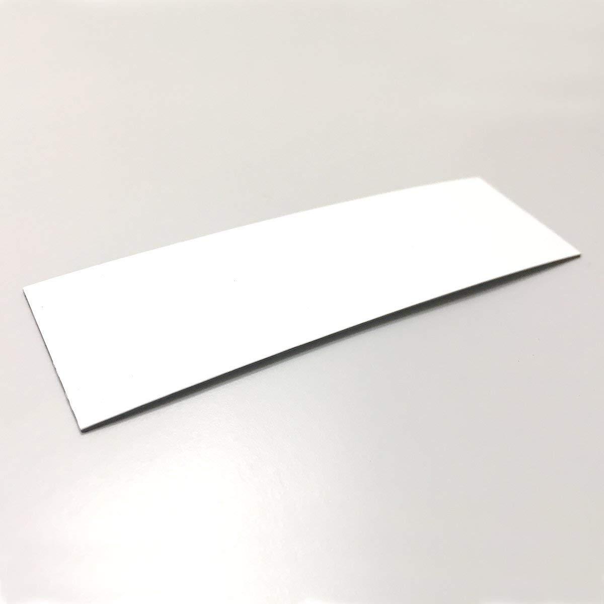 MAGSTICK Lot de 50 /étiquettes magn/étiques de 0 /à 85 mm 100 x 30 mm Blanc wei/ß