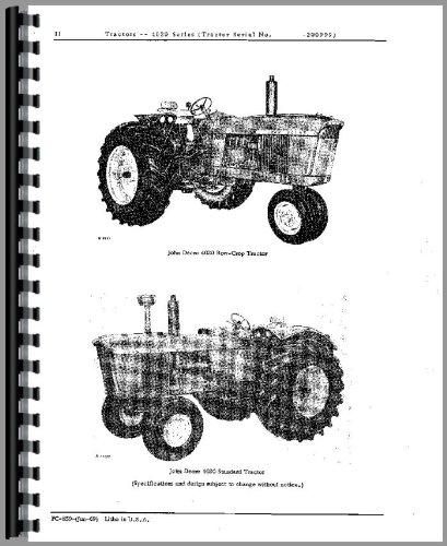 amazon com john deere 4020 tractor parts manual sn 0 200999 john deere 4020 tractor parts manual sn 0 200999