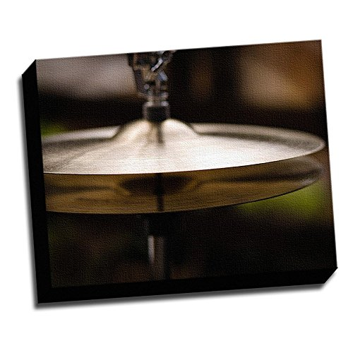 Cymbals Decoration Printed Canvas Stretched