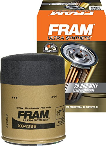 FRAM XG4386 Ultra Synthetic Spin-On Oil Filter with SureGrip