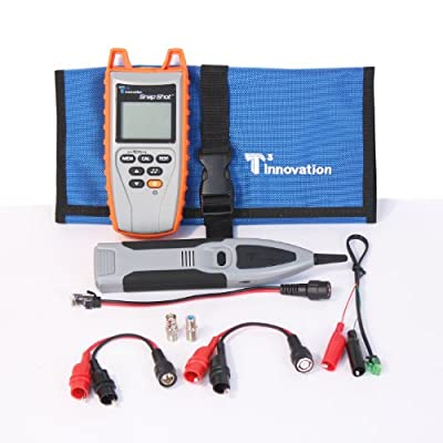 T3 Innovation SSK250 Snap Shot Cable Fault Finder, Includes TrakAll Tone Probe and Hanging Pouch, 3,000' Capacity