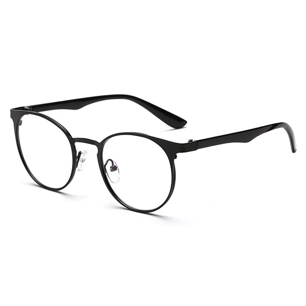 Juleya Occhiali da sole trasparenti per uomo donna - Occhiali da vista anti-riflesso blu chiaro per computer/giochi per PC/TV / occhiali da lettura per telefoni cellulari X171116YJJ1202-J