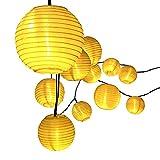 Lantern Solar String Lights, Innoo Tech Outdoor Globe Lights 14.4ft 20 LED Warm