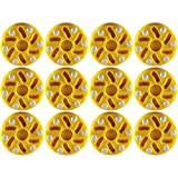 TronX Roller Hockey Puck (12-Pack) (Yellow)