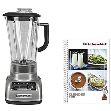 KitchenAid KSB1575CCU 5-Speed Diamond Blender, Silver
