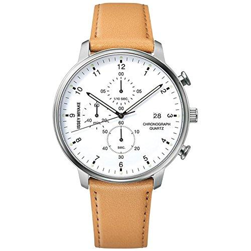ISSEY MIYAKE watch Men's C Sea Ichiro Iwasaki design chronograph NYAD004