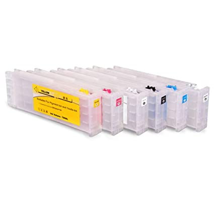 Amazon com: Refillable Ink Cartridge with chip for Epson SureColor