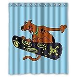 Baodan Zhang Scooby Custom Shower Curtain 60