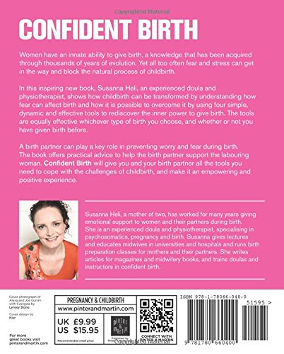 Confident Birth: Susanna Heli: 9781780660400: Amazon com: Books