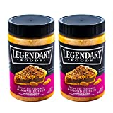 Legendary Foods Pecan Pie Keto Almond Butter- Natural Ingredients, Rich In Protein. Healthy Spread - No Added Sugar or Artificial Flavors, Gluten Free (16oz 2 Pack)