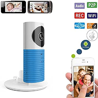 3T WIFI IP Camera Baby Monitor IR Cut Night Vision Motion Detection Two Way Audio Nanny Monitor Remote Viewer for IOS Android Windows Webcam by 3T Technology (HK) CO.Ltd that we recomend personally.