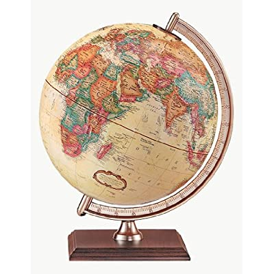 Replogle Globes Forester Globe, Antique Ocean, 9-Inch Diameter, Small, Off- Off-White: Replogle Globes: Home & Kitchen