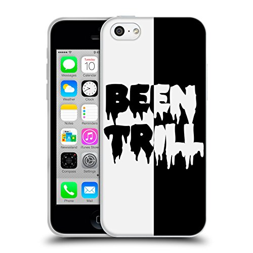 Official Been Trill Two Tone Black And White Soft Gel Case for Apple iPhone 5c